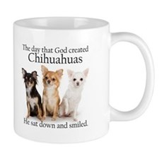 God & Chihuahuas Small Small Mug