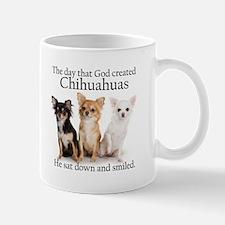 God & Chihuahuas Small Small Mug