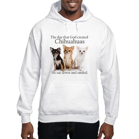 God & Chihuahuas Hooded Sweatshirt