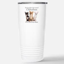 God & Chihuahuas Stainless Steel Travel Mug