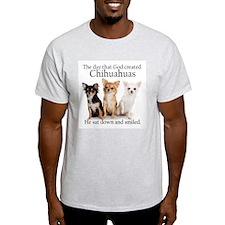 God & Chihuahuas T-Shirt
