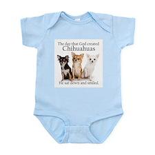 God & Chihuahuas Infant Bodysuit