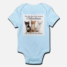 God & Chihuahuas Infant Bodysuit