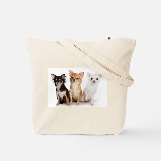 God & Chihuahuas Tote Bag