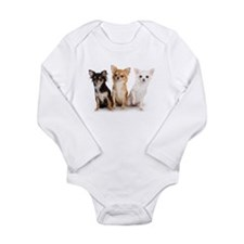 Chihuahua Long Sleeve Infant Bodysuit