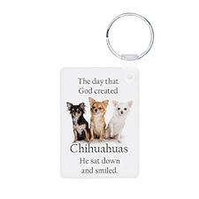 God & Chihuahuas Keychains