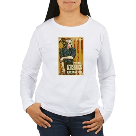 The Fight Has Just Begun Women's Long Sleeve T-Shi