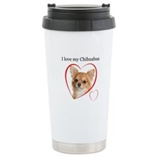 Love My Chihuahua Travel Coffee Mug