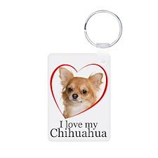 Love My Chihuahua Keychains