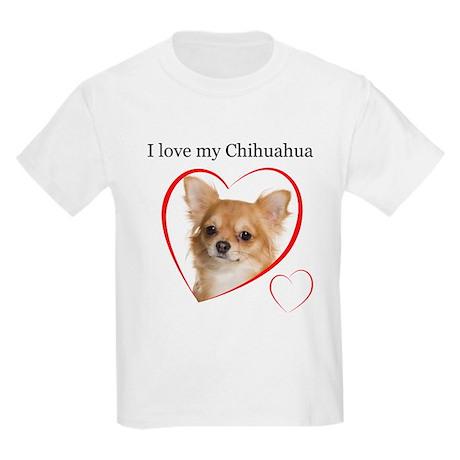 Love My Chihuahua Kids Light T-Shirt