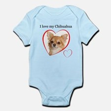 Love My Chihuahua Infant Bodysuit