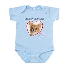 Love My Chihuahua Onesie