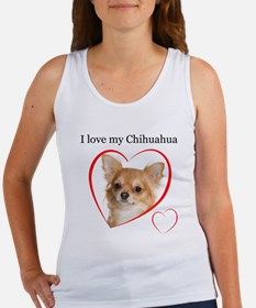 Love My Chihuahua Women's Tank Top