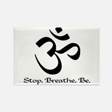Cool Yoga Rectangle Magnet (100 pack)