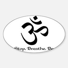 Funny Yoga Decal
