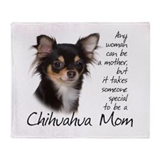 Chihuahua Mom Throw Blanket