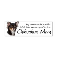 Chihuahua Mom Car Magnet 10 x 3