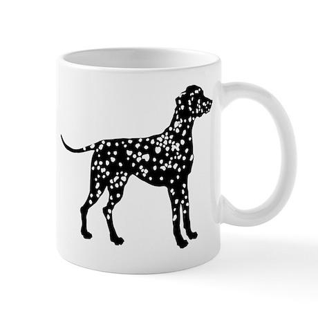 Dalmatian Silhouette Mug