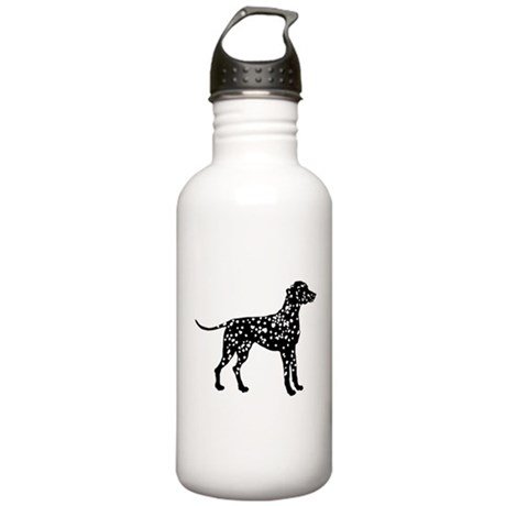 Dalmatian Silhouette Stainless Water Bottle 1.0L