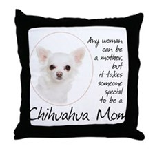 Chihuahua Mom Throw Pillow