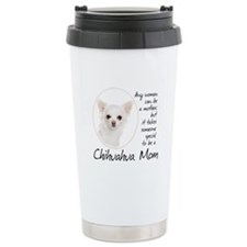 Chihuahua Mom Travel Coffee Mug