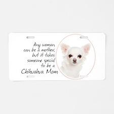 Chihuahua Mom Aluminum License Plate