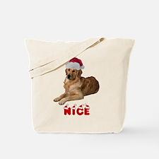 Nice Golden Retriever Tote Bag
