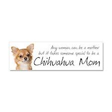 Chihuahua Mom Car Magnet 10 x 3