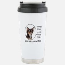 Chihuahua Dad Stainless Steel Travel Mug