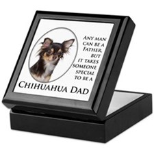 Chihuahua Dad Keepsake Box