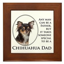 Chihuahua Dad Framed Tile
