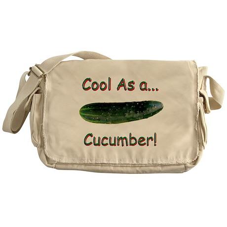 Cool Cucumber! Messenger Bag