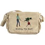 Walking the Beet! Messenger Bag