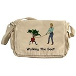 Walking the Beet! Messenger Bag