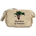 Heartbeet of America Messenger Bag