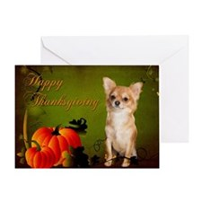 Chihuahua Thanksgiving Card