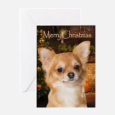 Holiday Chihuahua Card