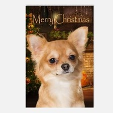 Holiday Chihuahua Postcards (Package of 8)