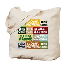 Global Warming Hoax Tote Bag