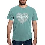 I Love Basketball Brown Organic Kids T-Shirt (dark