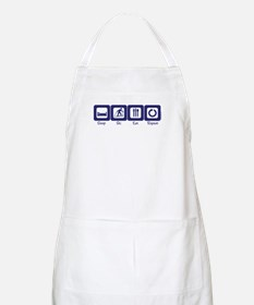 Sleep- Ski- Eat- Repeat BBQ Apron