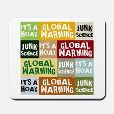 Global Warming Hoax Mousepad
