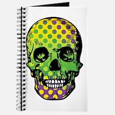 Bead Pirate Skull Journal