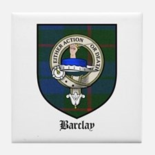 Barclay Clan Crest Tartan Tile Coaster