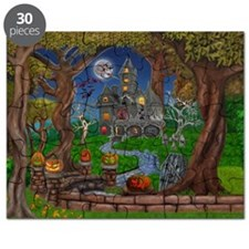 HOLBROOK'S HAUNTED MANSION Puzzle