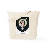 Blyth Clan Badge Tartan Tote Bag