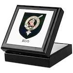 Blyth Clan Badge Tartan Keepsake Box