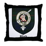 Blyth Clan Badge Tartan Throw Pillow