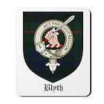 Blyth Clan Badge Tartan Mousepad