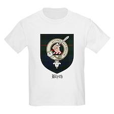 Blyth Clan Badge Tartan Kids T-Shirt